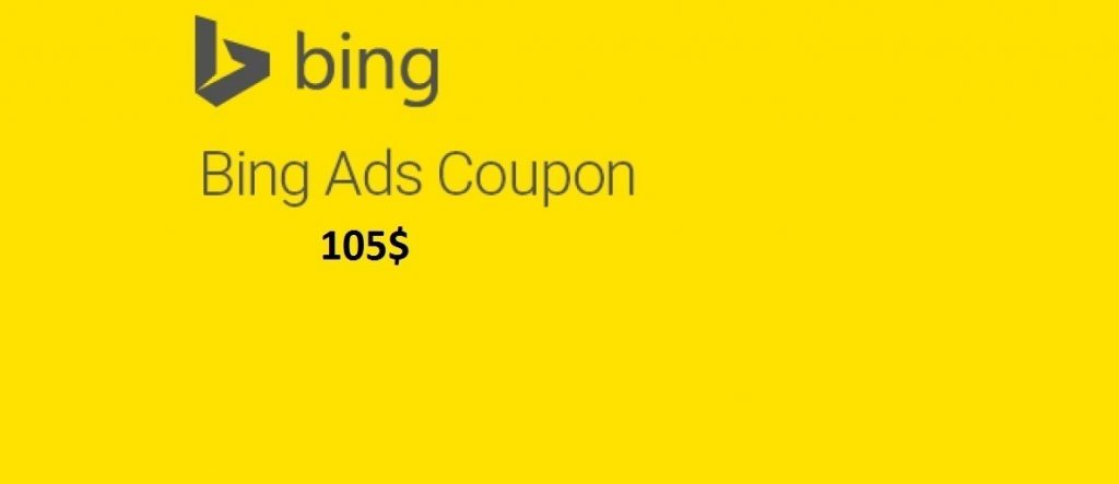 bing coupon