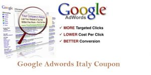 Google Adwords Coupon Italy