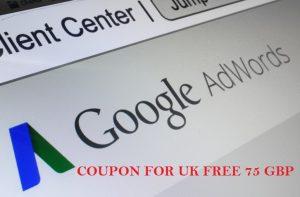 Google Adwords Coupon UK