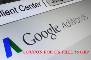 Google Adwords Coupon UK