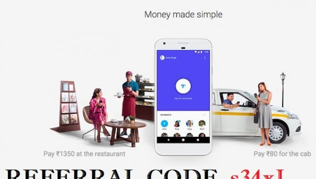Google Tez App Referral Code