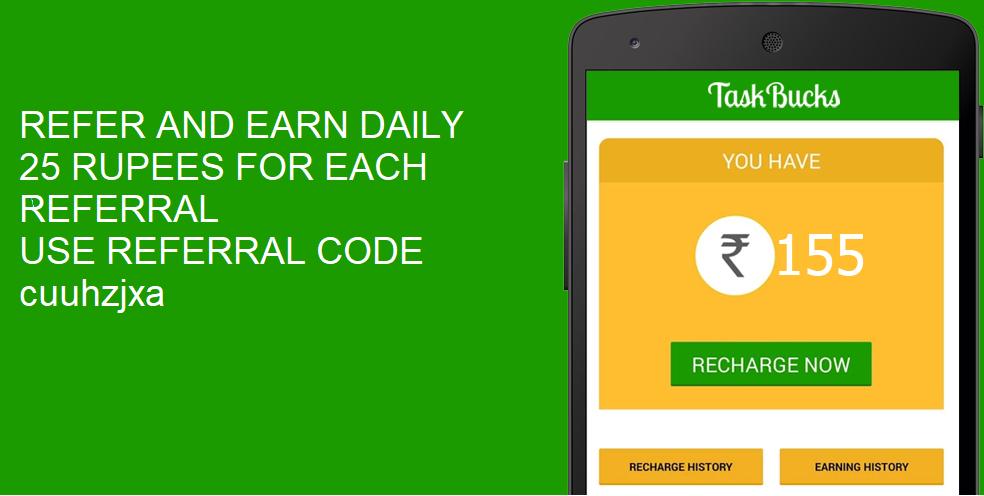 Taskbucks Referral Code