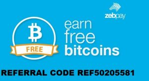 Zebpay Referral Code