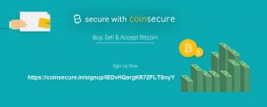 Coinsecure Referral id lEDvHQargKR7ZFLTSnyY