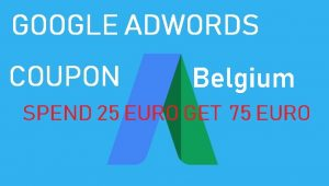 Google Adwords Coupon Belgium