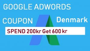 Google Adwords Coupon Denmark